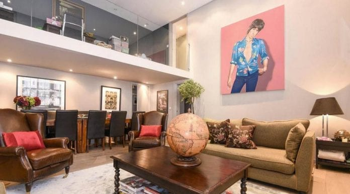 A Bargain in Belgravia – Bradbrook House, Studio Place, Belgravia, London, SW1X 8EL studio for £995,000 ($1.3 million, €1.1 million or درهم4.8 million) – Fully renovated Belgravia studio with double height reception room for sale for just £455 per square foot. It comes with a catch.