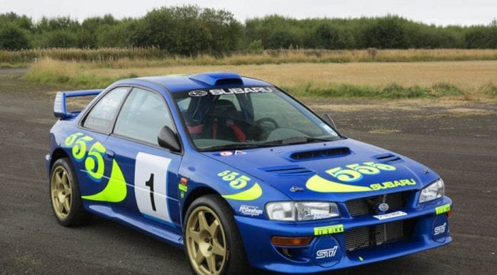 A Star Subaru – £175,000 to £200,000 estimate on 1996 Subaru Impreza PR0WRC97001 – To be auctioned by H&H Auctioneers at the Royal Automobile Club at Woodcote Park in Surrey on 6th June 2017.