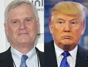 The decline of The Donald - Donald Trump and Randy Falco