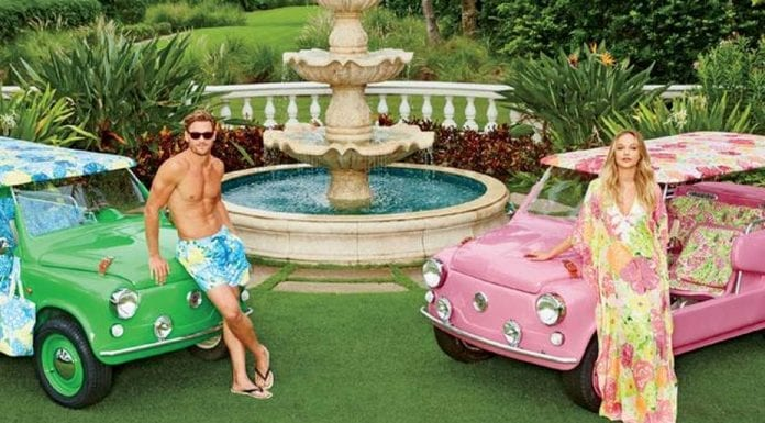 The Island Car – 'His' and 'hers' Neiman Marcus Island Cars by Lilly Pulitzer – £53,200 ($65,000 or €59,700)