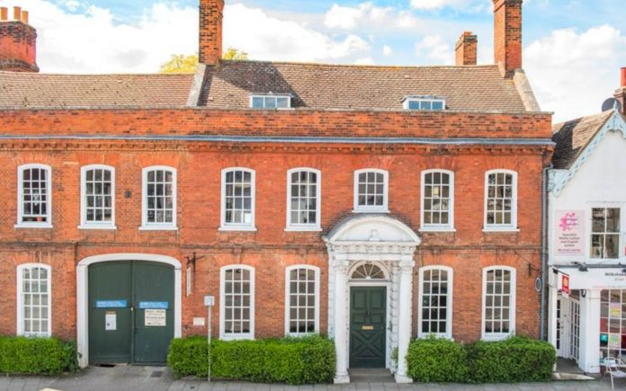 One Owner Since 1884 – The Manor House, 26 Bancroft, Hitchin, Hertfordshire, SG5 1JW, United Kingdom for sale through agents Michael Graham for £500,000 ($641,000, €582,000 or درهم2.4 million) – Striking Grade II* listed Georgian manor house that was the premises of a renowned antiques dealer for 130 years and the setting for 'Kavangah QC' for sale for less than a price of a studio flat in SW3.