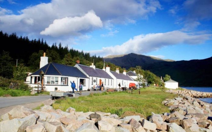 Pitchforks at the Ready – Jean-Pierre Robinet vs. Knoydart locals – Owner of Britain's remotest mainland pub, The Old Forge at Knoydart, goes to war with his very own locals – The Old Forge, Inverie, Knoydart, Mallaig, Scotland, United Kingdom, PH31 4PL
