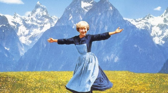 The Sound of Theresa – Theresa May to holiday in Italy and Switzerland