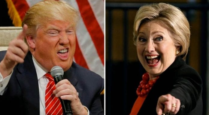 Fallen Stars and DikiLeaks – The American election campaign has sunk to new lows; it can sadly only sink lower in the coming days – Donald Trump and Hillary Clinton – Hollywood Walk of Fame Donald Trump star vandalised – Clinton DikiLeaks emails