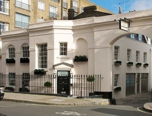 Two into one – Henley House, 1a South Eaton Place, Belgravia, London, SW1W 9ES – £11,950,000 – Wellbelove Quested – Red Button Development – 3,861 square foot