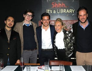 What makes art sell? The Steeple Times' first panel debate at the Library, 2nd December 2015