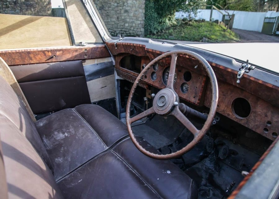A Cut-Price Gulbenkian – Ex-Nubar Gulbenkian Rolls-Royce for sale – Rolls-Royce owned by eccentric tycoon Nubar Gulbenkian expected to sell for just £30,000 in spite of £200,000 spent on restoration to date – Offered by Historics Auctioneers at Ascot Racecourse on 7th March 2020 with no reserve.