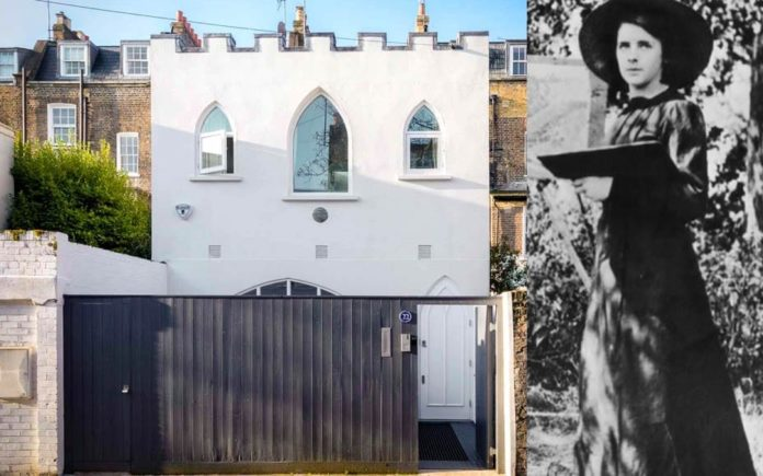 Gassed in a Gothic Box – £2.95 million for 22 Bury Walk, Chelsea, London, SW3 6QB through Russell Simpson – 'Gothic box' in Chelsea where theatrical designer Sophie Fedorovitch was accidentally gassed to death for sale for £2.95 million.