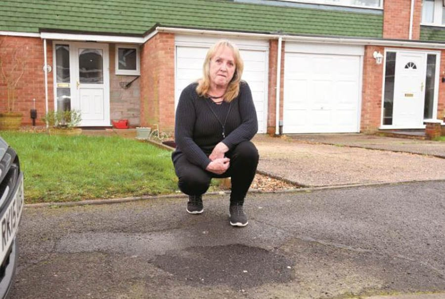 "Where's Theresa (When You Actually Need Her)? ""Fed up"" Maidenhead constituent who fears ""one foot wrong and you could be over"" gets no help from Theresa May over a missing lamp post. Madelene Lachello of Marlborough Road, Maidenhead moans to the Maidenhead Advertiser."