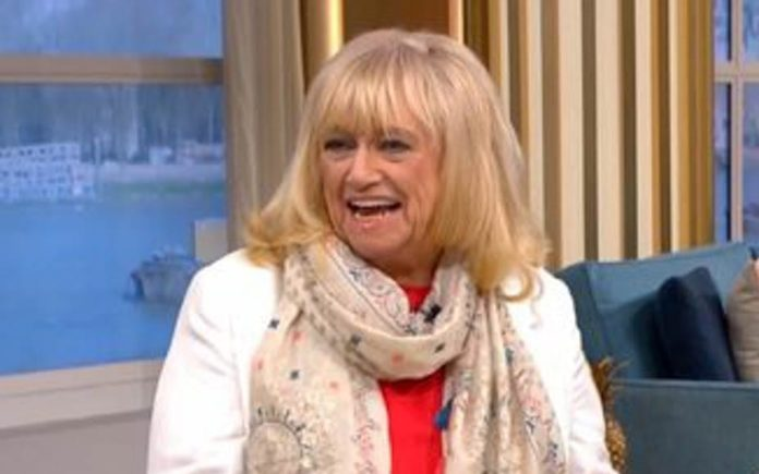 """Boobed by Judy – Judy Finnigan labelled """"sexist"""" by her husband – Pissed-up bra flasher Judy Finnigan labelled """"sexist"""" by her very own husband Richard Madeley during a discussion about naked women in saunas."""