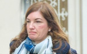 """Moron of the Moment – Karren Brady shows herself as a sore loser – Lady Brady yet again makes an utter berk of herself by declaring the premier league season be declared """"null and void"""" due to coronavirus."""