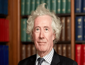 """The Rt. Hon. The Lord Sumption OBE, PC, FRHistS, FSA – Former Supreme Court judge Lord Sumption became widely known in March 2020 for calling out the police over their """"hysterical"""" handling of COVID-19."""