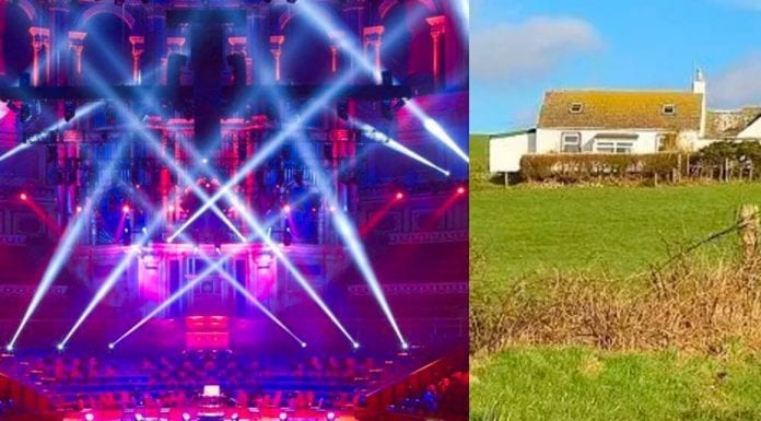 A Seat or a Smallholding? Two seats at the Albert Hall vs. Smallholding – Two seats at the Royal Albert Hall for sale leasehold; their £300,000 price is equivalent to buying a renovated freehold smallholding in Scotland. Agents: Harrods Estates and South West Property Centre.