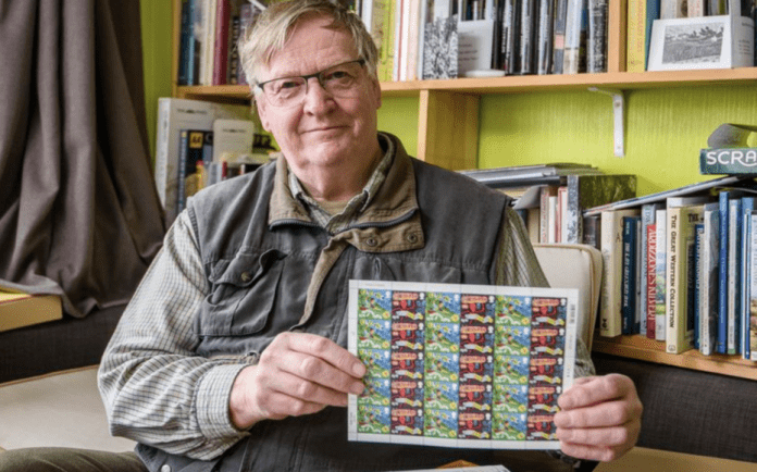 Put A Stamp In It – Pensioner Dave French gets angry about stamps – Bath pensioner gets very, very, very worked up about the quality of stamps available in a Post Office in a WHSmith store.