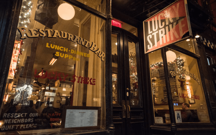 Not Such A Lucky Strike – Keith McNally's Lucky Strike closes permanently – Coronavirus has proved a double blow to restaurateur Keith McNally: First he got the virus himself and now his original restaurant has closed permanently due to it.