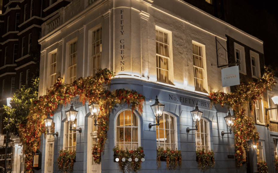 "Simplifying Sunday – No. Fifty Cheyne, 50 Cheyne Walk, Chelsea, London, SW3 5LR offers Sunday lunch at home – Chelsea favourite No. Fifty Cheyne is now offering its Sunday lunch menu ""in the comfort of your own home… with only very little further cooking needed"""