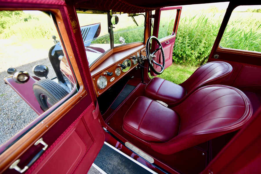 "A Meticulous MG – £75,000 for 1925 MG 14/28 Super Sports bullnose salonette through Vintage & Prestige Classic Cars – ""Meticulously restored"" MG 14/28 Super Sports bullnose two-door salonette for sale; it is the only surviving example of just six made in 1925."