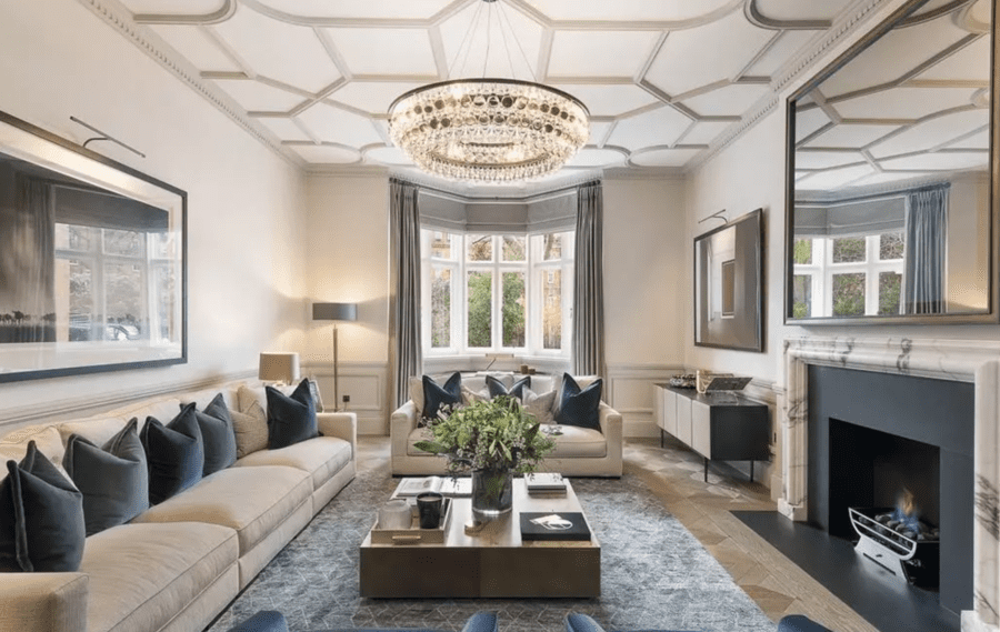 A Faithfull Flat – Triplex apartment in Knightsbridge building once home to singer-songwriter Marianne Faithfull for sale for the astounding sum of £25 million – Strutt & Parker seek £24.75 million ($30 million, €27.7 million or درهم110 million) for Basement to First Floor Triplex, 29 Lennox Gardens, Brompton and Hans Town, Knightsbridge, London, SW1X 0DE, United Kingdom.