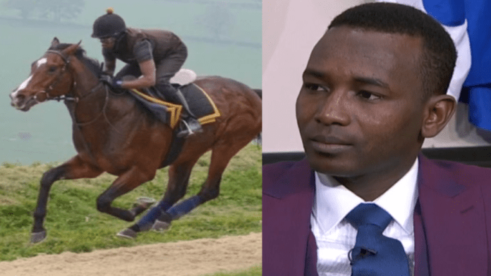 Hero of the Hour – Groom-rider child refugee Abdul Musa Adam – As groom-rider Abdul Musa Adam leads out Shadn today, he will inspire many on the eve of World Refugee Day and illustrate the positives of welcoming child refugees.