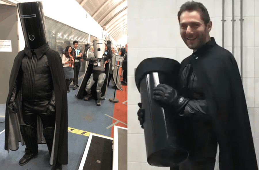 Elevating Count Binface – Poll backs statue of Count Binface – Poll of 500 Twitter users backs the erection of a statue in honour of Count Binface (formerly known as Lord Buckethead).