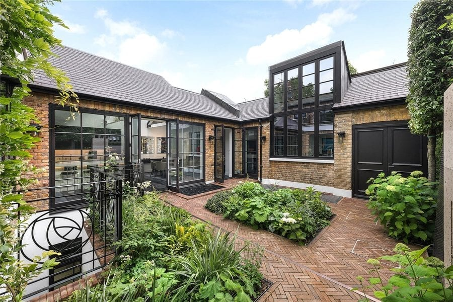 Mackintosh Icebergs – £14.95 million ($18.90 million, €16.67 million or درهم69.40 million) for 43 Glebe Place, Chelsea, London, SW3 5JE, United Kingdom through agent Johnny Turnbull of The London Broker – 'Iceberg home' formed in part from the former Glebe Place, Chelsea, SW3 studios of Rennie Mackintosh and his wife for sale for sum 1,178% higher than in 2012.