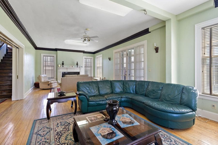 Hooping A Half Price Mansion – £141,000 for 514 South 5th Street, Watseka, Illinois, IL 60970, United States of America through agents Berkshire Hathaway – Vast Edwardian mansion with basketball court in the roof in Watseka, Illinois for sale at half price it listed for in 2016; it's on for just £20 per square foot.