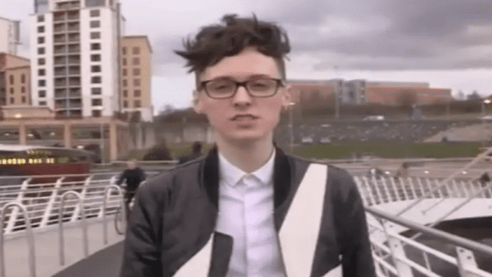 """Wally of the Week – Darren Grimes interviews Dr David Starkey – As manipulated millennial Darren Grimes gets himself into yet another racism storm with the help of his beloved Dr David Starkey, one has to ask: """"Who is this cretin's puppet master?"""""""