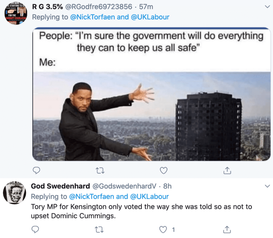 Flicka-ing off the Safety – Felicity Buchan votes against safety – Conservative MP for Kensington Felicity 'Flicka' Buchan should be utterly ashamed of herself for voting against safety measures to prevent another Grenfell Tower disaster.