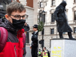 "Moron of the Moment – Benjamin Clark – Extinction Rebellion activist Benjamin Clark deserved more than a fine for painting the word ""racist"" on a statue of Churchill."