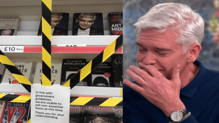 """Schofe Banned – Phillip Schofield memoirs banned in Wales – As Phillip Schofield's book is banned from sale in Wales, we ask: """"Did the temperamental telly host have another meltdown as a result?"""""""