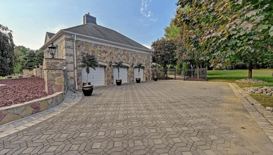 The World's Worst McMansion - It's So Bad, It's Good – New Jersey 'McMansion' complete with Flintstone-esque pebbled bathrooms and gaudy grottos goes on sale for £1.65 million; it's so bad, it's good – 1 Rivers Edge Drive, Colts Neck, Monmouth, New Jersey, NJ 07722, United States of America for sale for £1.65 million ($2,199,999, €1.86 million or درهم8.08 million) with Robert DeFalco Realty Inc.