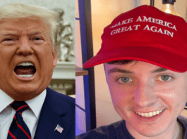 """Dopey Darren on Defeated Donald – Darren Grimes on Trump defeat – Dopey Darren Grimes claims Donald Trump will win again in 2024 and crazily announced """"Trumpism is alive and well."""""""
