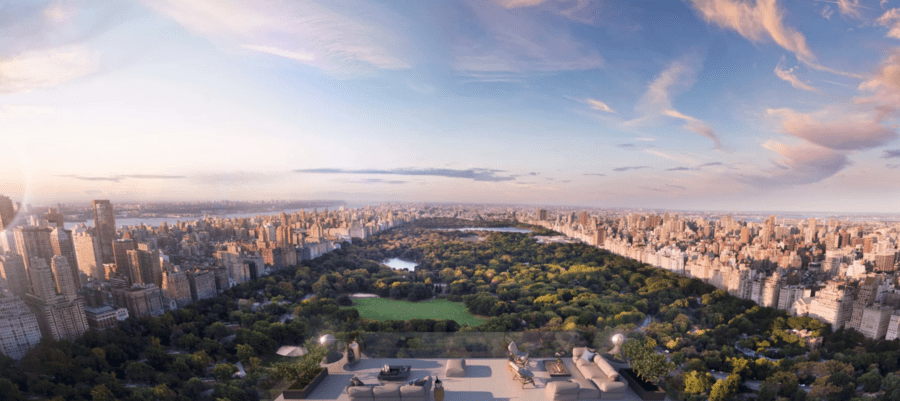 Steeply Priced Roof Space Slashed – Space to create The Penthouse, Hampshire House, 150 Central Park South, Manhattan, New York, NY 10019, United States of America heads to auction with no reserve after failing to sell for £30.3 million ($40 million, €33.8 million or درهم146.9 million) through Concierge Auctions.
